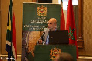 الدكتور محمد أويس رفيع الدين أستاذ محاضر بجامعة يونيسا ببريتوريا.