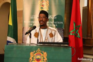 عبدالقادر مندلا نقوسي رئيس فرع مؤسسة محمد السادس للعلماء الأفارقة بجنوب أفريقيا