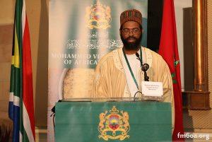 لشيخ محمد داوود ميلانزي مقدم الطريقة التيجانية بجنوب افريقيا.