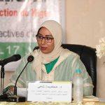 الدكتورة حكيمة الشامي مديرة مركز التوثيق والأنشطة الثقافية بوزارة الأوقاف والشؤون الإسلامية