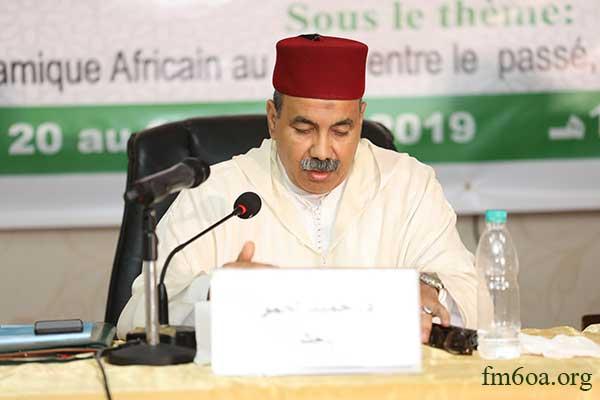 Dr. Hamid Lahmer, coordinateur de la commission chargée de la revitalisation du patrimoine islamique africain auprès de la Fondation Mohammed VI des Ouléma Africains