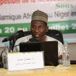 الدكتور عثمان جنيد مدير قسم اللغة العربية في وزارة التعليم العالي بالنيجر