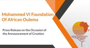 Press Release on the Occasion of the Announcement of the Creation of the Foundation
