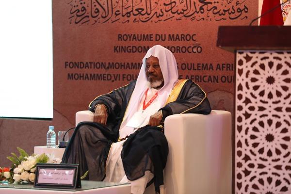 الشيخ إبراهيم صالح الحسيني رئيس هيئة الإفتاء والمجلس الإسلامي النيجيري