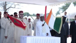 HM the King, Ivorian President Launch Construction Works of 'Mohammed VI' Mosque in Treichville Neighbourhood in Abidjan