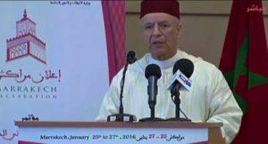 أحمد التوفيق: كلمة تأطيرية في ملتقى مراكش حول الأقليات الدينية في البلدان الإسلامية الإطار الشرعي والدعوة إلى المبادرة