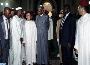 الرئيس النيجيري يزور معهد محمد السادس لتكوين الأئمة