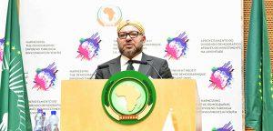 جلالة الملك يلقي خطابا ساميا بأديس ابابا أمام المشاركين في القمة 28 للاتحاد الافريقي