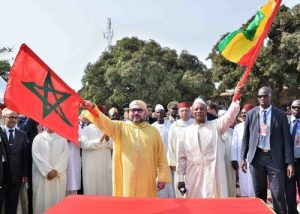 HM the King, Guinean President Kick Off Construction Works of New Mosque in Conakry
