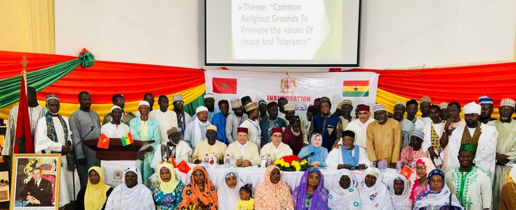Inauguration of the Mohammed VI Foundation of African Oulema Section in Ghana