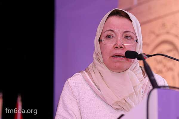 الدكتورة رجاء الناجي المكاوي، أستاذة التعليم العالي وعضو المجلس العلمي الاعلى - الرباط