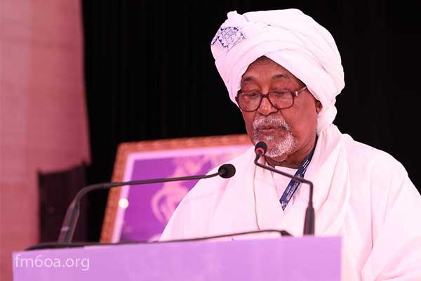 السيد محمد السيد ابو الخير رئيس فرع مؤسسة محمد السادس للعلماء الأفارقة بالسودان