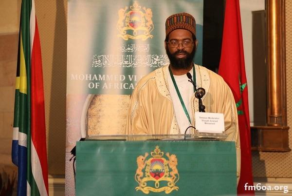 Sheikh Mohammed Dawood Milanzi, Muqadam of the Tariqa Tijania in South Africa
