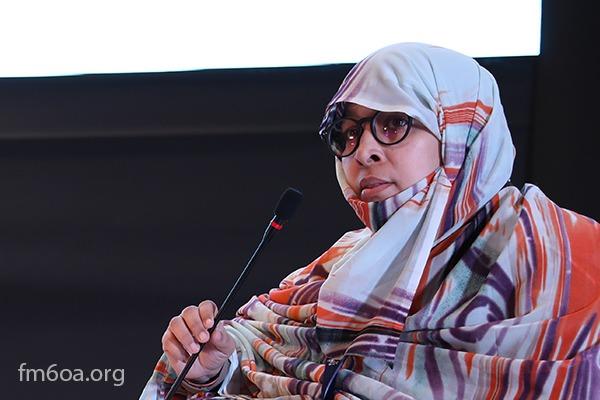 Professor Ruqaya Muneh, Lecturer at the Islamic studies and research institute in Nouakchott