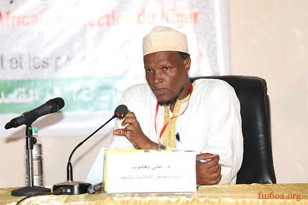 الدكتور علي يعقوب أستاذ بالجامعة الإسلامية بالنيجر