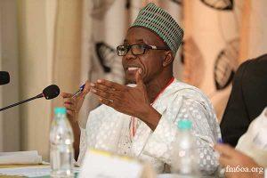 Dr. Mahadi Elhadji Maazou, Doyen de la Faculté d'économie et des sciences de l'administration à l'Université Islamique du Niger