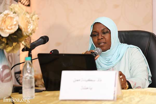 Professor Sakina Maman, Member at the Nigerien section of the Mohammed VI Foundation of African Oulema