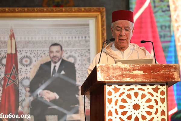 الأستاذ أحمد التوفيق الرئيس المنتدب لمؤسسة محمد السادس للعلماء الأفارقة ووزير الأوقاف والشؤون الإسلامية