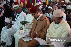 compétition de mémorisation, de récitation et de psalmodie du Saint Coran dans sa première édition organisée par la Fondation Mohammed VI des Ouléma Africains