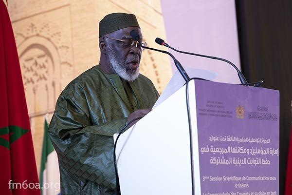 Cheikh Boikary Fofana, qu'Allah ait son âme, président du Conseil Supérieur des Imams, des Mosquées et des Affaires Islamiques en Côte d'Ivoire (COSIM) et président de la Fondation Mohammed VI des Ouléma Africains en Côte d'Ivoire