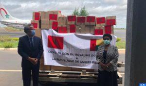 Aides médicales - Maroc Bissau - covid 19
