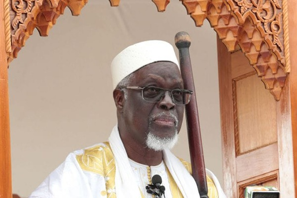 Appointment of Imam Mamadou Traore as the president of the Supreme Council of Imams, Mosques and Islamic Affairs of the Republic of Cote d'Ivoire succeeding Sheikh Abu Bakr Fofana, may God have mercy on him.