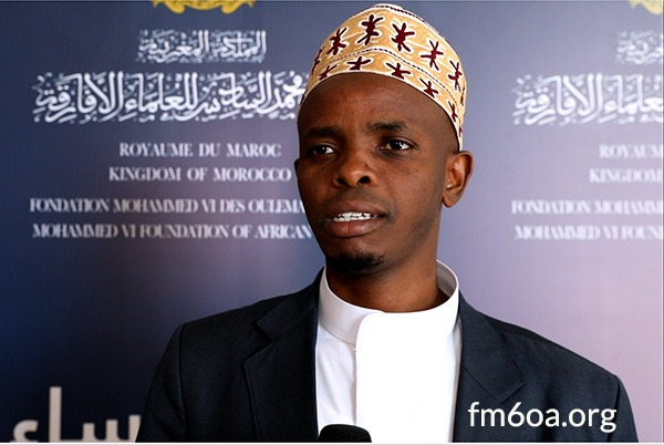 Sheikh Musa Sindayiga, the President of the Mohammed VI Foundation of African Ulemas office in Rwanda.