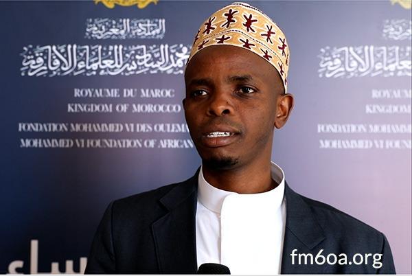 الشيخ موسى سندايغا، رئيس فرع مؤسسة محمد السادس للعلماء الأفارقة في رواندا