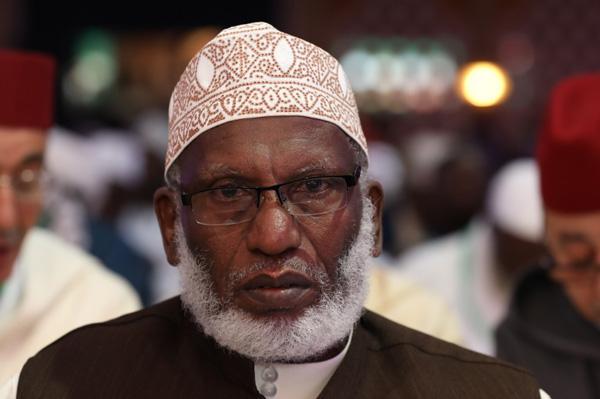 الشيخ محمد شبوانا رحمه الله رئيس فرع مؤسسة محمد السادس للعلماء الأفارقة بجمهورية كينيا