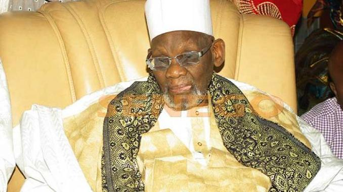Sheikh Ahmed Tidiane Niass, May Allah Rest his Soul in Peace, the Khalife to the Tijani order of the Senegalese city of Kaolakh