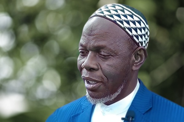 Imam Omar Kobine Layama, May Allah Rest his Soul in Peace, member of the Mohammed VI Foundation of African Oulema and President of the Supreme Islamic Council in the Central African Republic