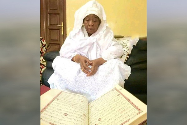 "Maryam Bint Sheikh Ibrahim Niass, ""The Servant of Quran"", May Allah Rest his Soul in Peace"