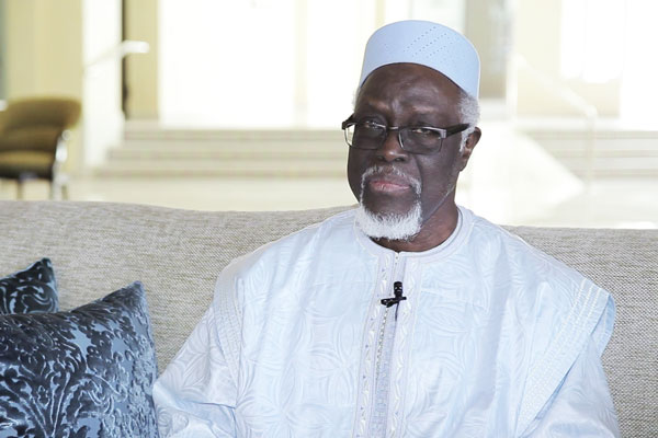 Sheikh Mamado Traoré, May Allah Rest his Soul in Peace, President of the Supreme Council of Imams and President of the Section of the Mohammed VI Foundation of African Oulema in the Republic of Côte d'Ivoire