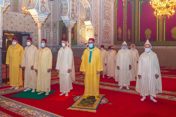 His Majesty King Mohammed VI (may Allah protect him), Commander of the Faithful, Commemorates Laylat Al Qadr