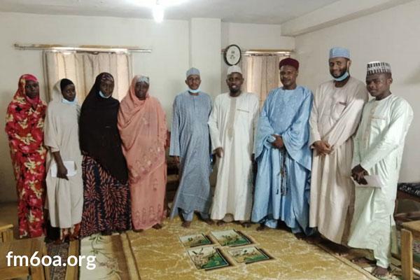 فرع نيجيريا – تكريم الفائزين بالمسابقة القرآنية الثانية عن بعد